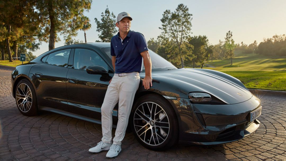 World class golfer Paul Casey becomes a Porsche Brand Ambassador
