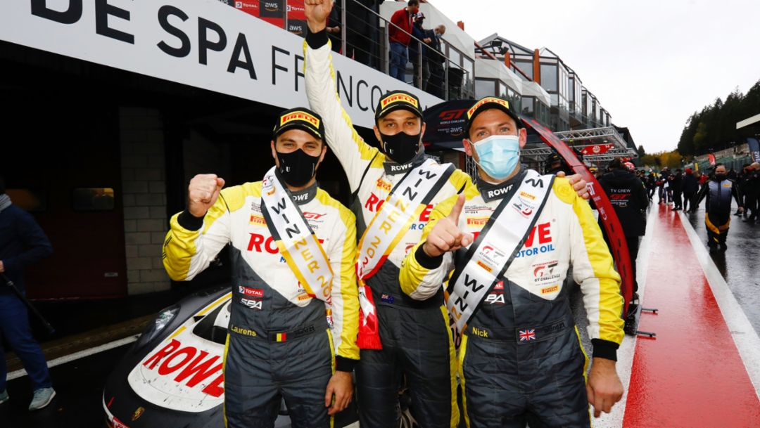 Spa 24 Hours: Nerve-wracking victory