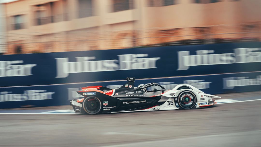 Video highlights of the Marrakesh E-Prix