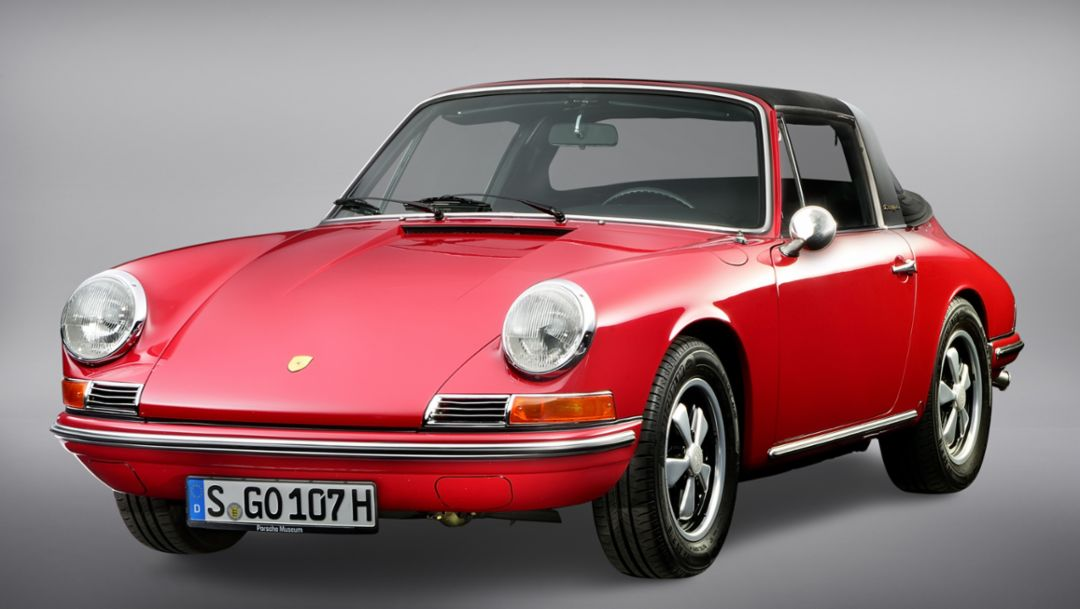 The history of the Porsche Targa