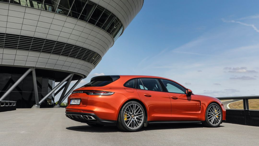 The new Panamera – Chassis