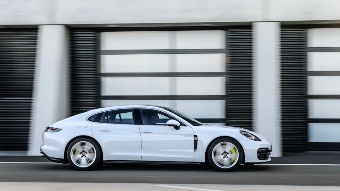 The new Panamera – E-Performance