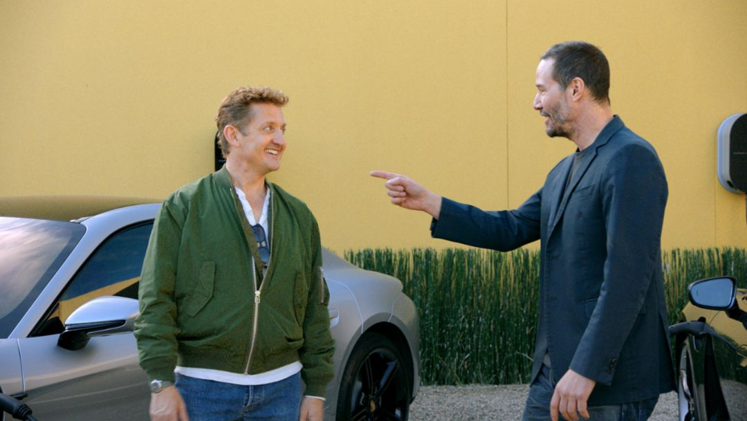 Porsche Presents: 'Going The Distance' with Alex Winter & Keanu Reeves