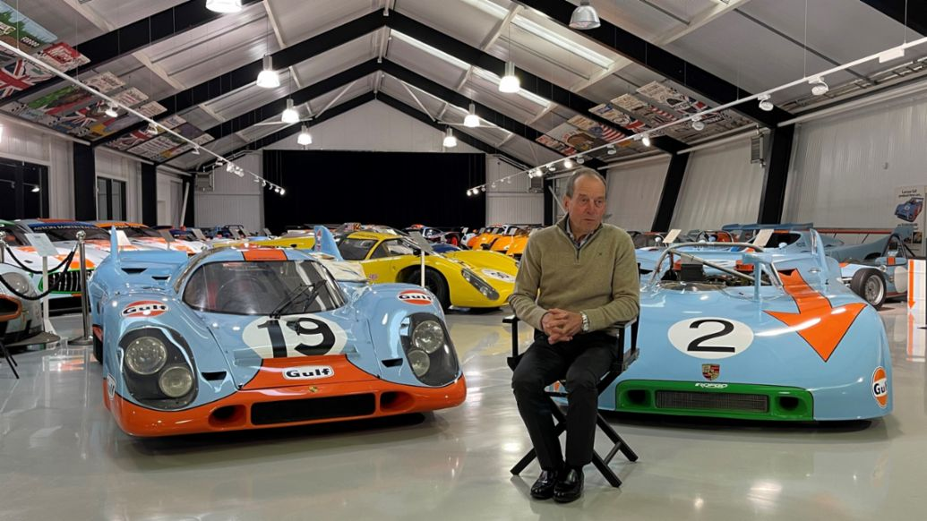 Jackie Oliver, The Rofgo Gulf Heritage Collection, 2021, Porsche AG