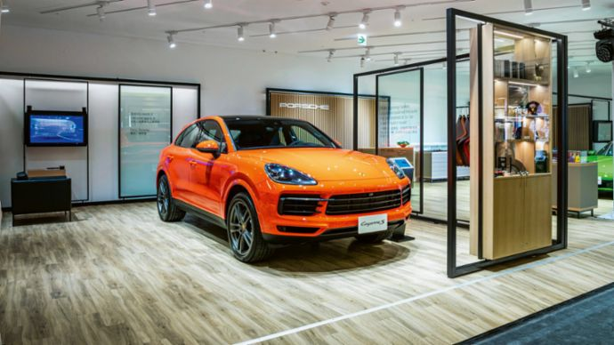 Cayenne S, Porsche Sales Pop-up, Taipeh, Porsche AG