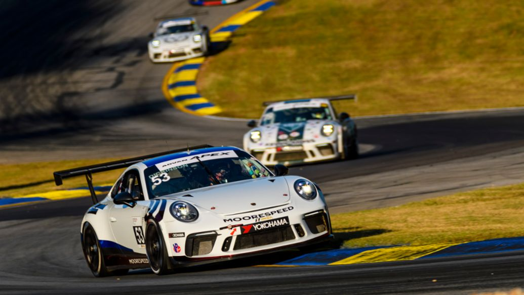 Riley Dickinson - No. 53 Moorespeed Porsche 911 GT3 Cup, Michelin Raceway Road Atlanta, 2019, PCNA