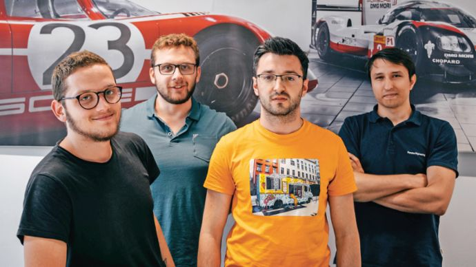 Employees, Porsche Engineering Virtual ADAS Testing Center (PEVATeC), Cluj, 2019, PCNA