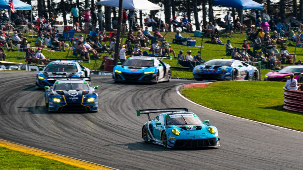 No. 16 Wright Motorsports Porsche 911 GT3 R - Patrick Long (USA) and Ryan Hardwick (USA), Mid Ohio, 2020, PCNA