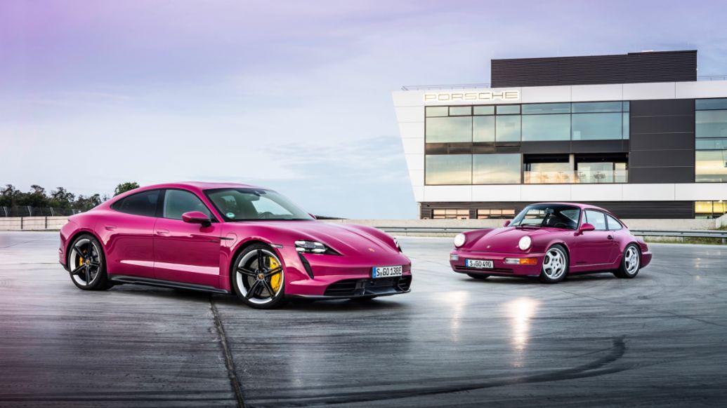 Taycan Turbo S, 911, 2021, Porsche AG