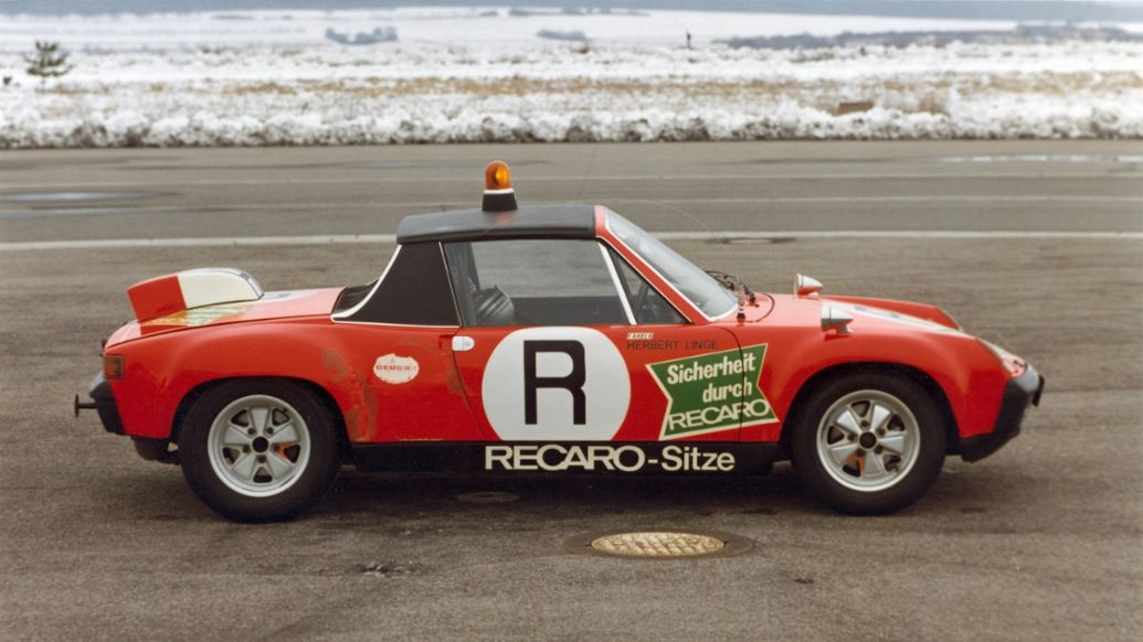 Porsche 914/6 GT, model year 1972, the ONS track safety vehicle, 1973, Porsche AG