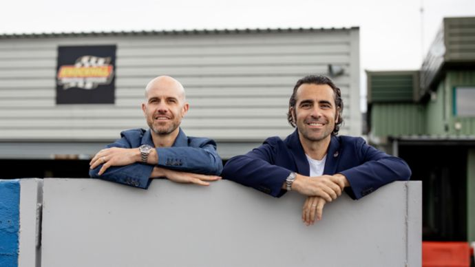 Marino and Dario Franchitti, 2019, Porsche AG