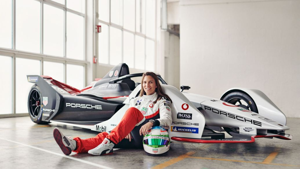 Simona De Silvestro, test and development driver Formula E, 2019, Porsche AG