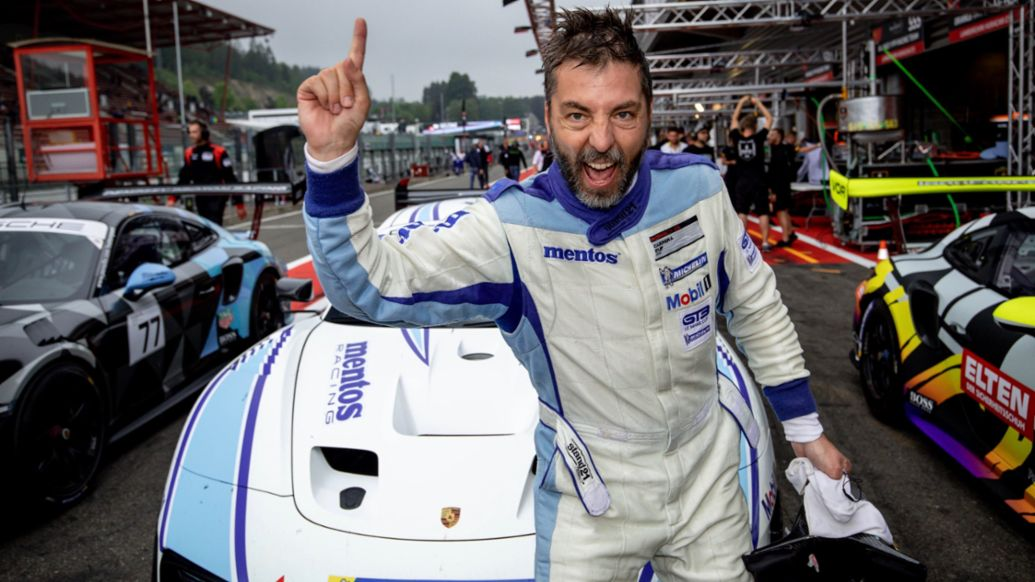 Egidio Perfetti, Mentos Racing, Porsche Motorsport GT2 Supersportscar Weekend, Spa-Francorchamps, 2019, Porsche AG