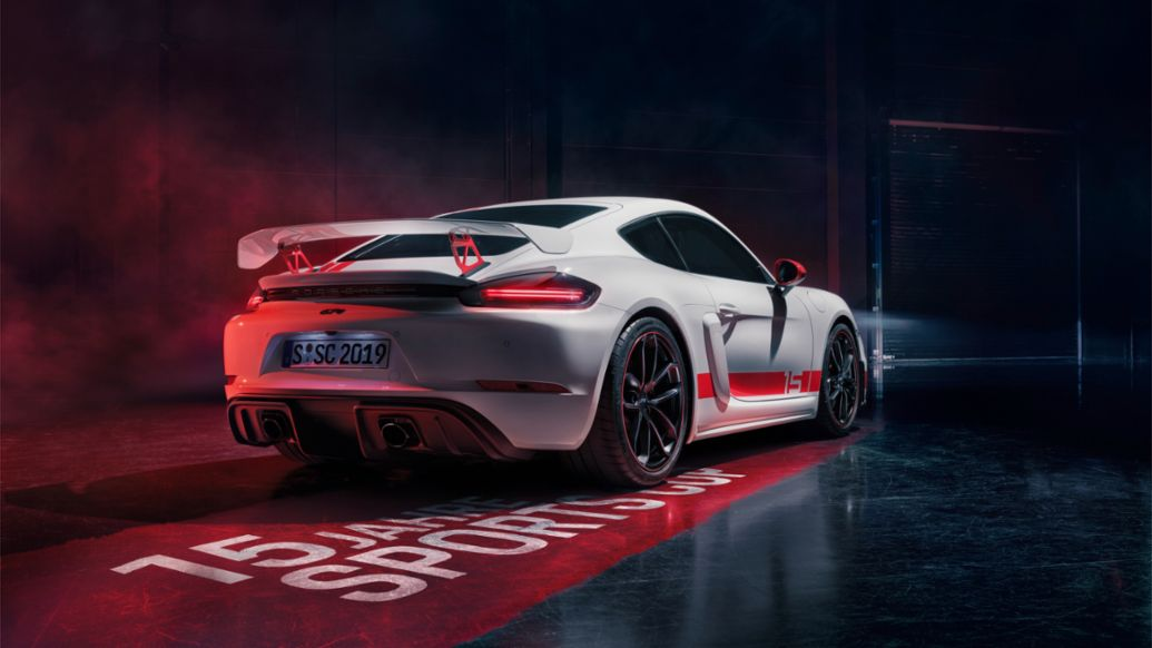 718 Cayman GT4 Sports Cup Edition, 2019, Porsche AG