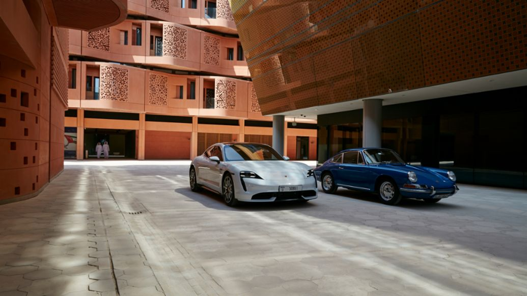 Taycan Turbo, Masdar City, 2019, Porsche AG