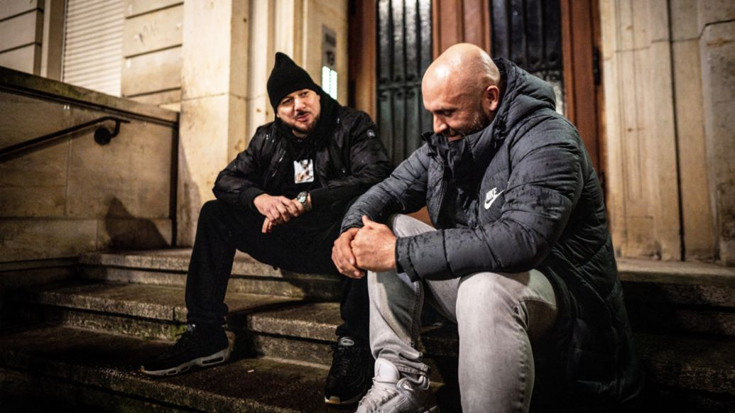 Kool Savas, Rapper, Niko Hüls, l-r, Roadtrip Back 2 Tape, Berlin, 2020, Porsche AG