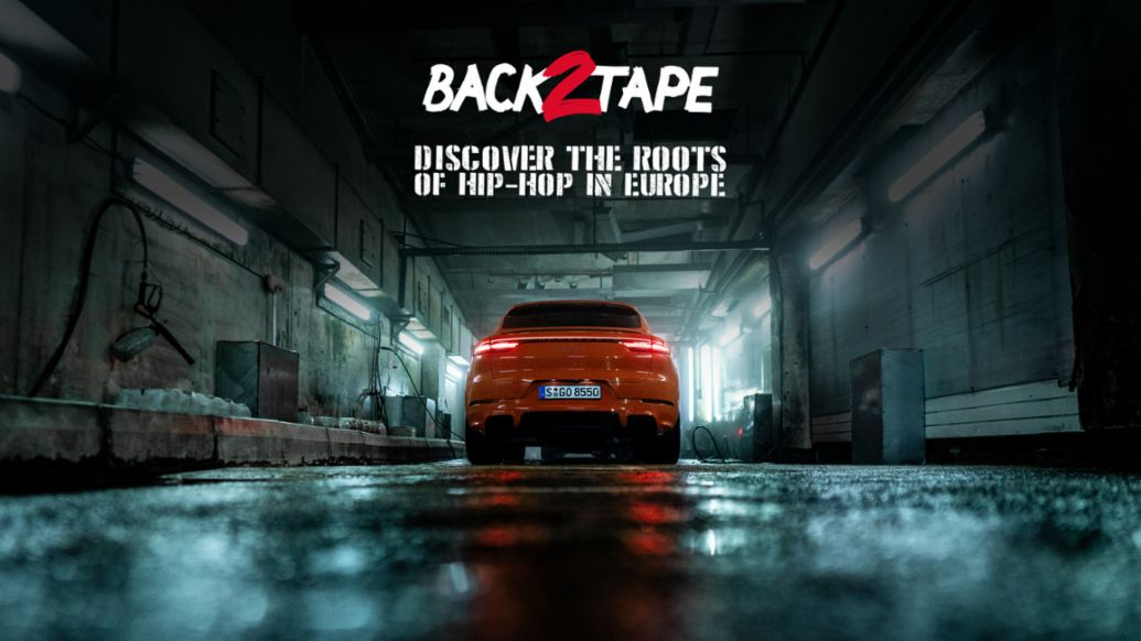 Hip-hop documentary Back 2 Tape, 2020, Porsche AG