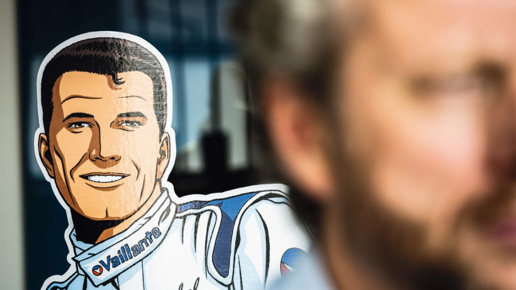 Comic hero Michel Vaillant, 2020, Porsche AG