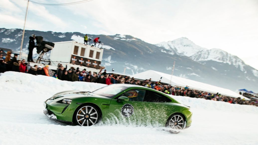 Taycan Turbo S, GP Ice Race, Zell am See, Österreich, 2020, Porsche AG