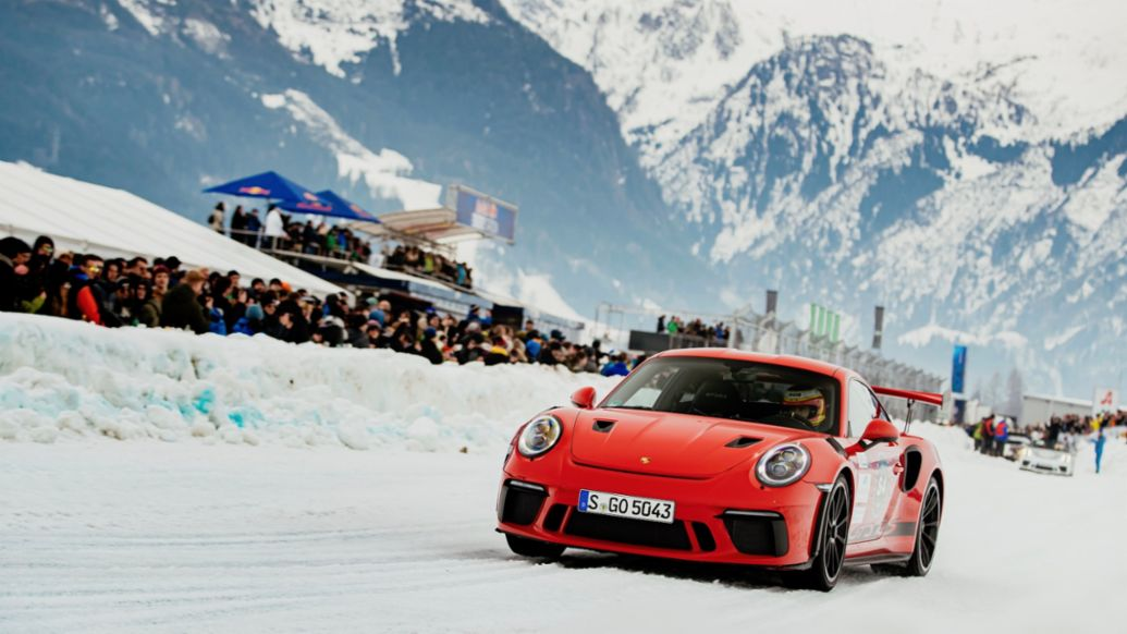 911 GT3 RS, GP Ice Race, Zell am See, Austria, 2020, Porsche AG