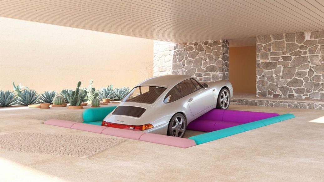 911, obra de Chris Labrooy, 2020, Porsche AG
