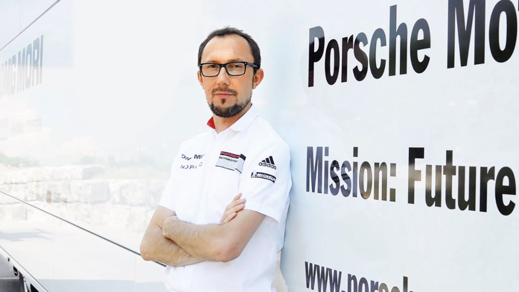 Martin Füchtner, Senior Manager High-Voltage Drive Development in Motorsports, 2020, Porsche AG