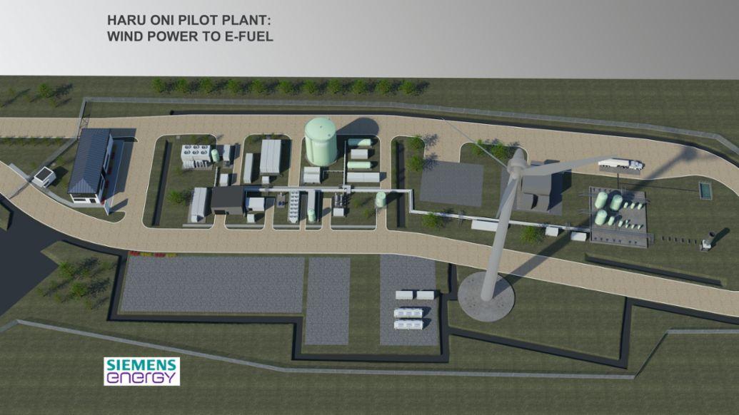 Haru Oni Pilot Plant, 2020, Porsche AG