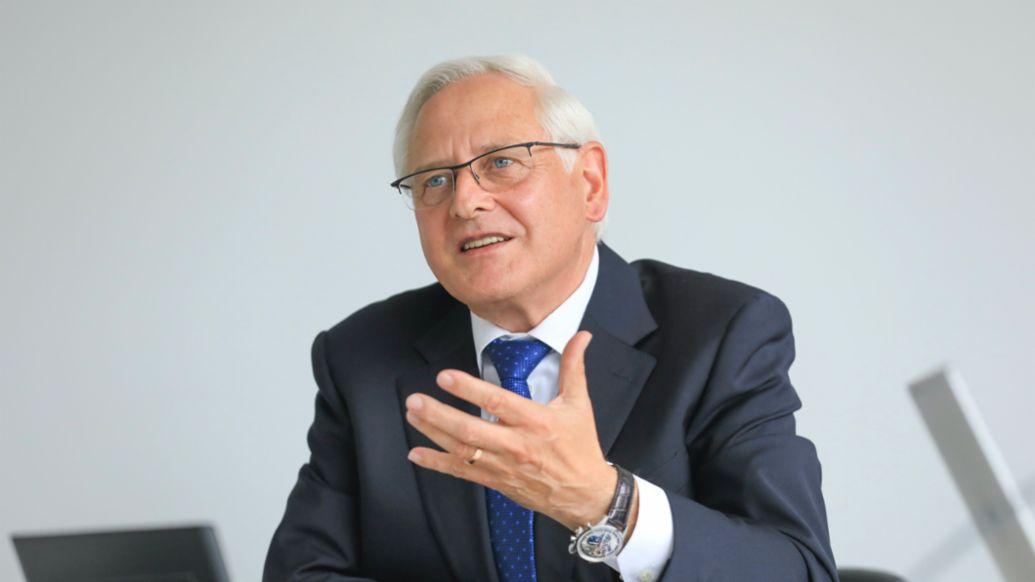 Uwe-Karsten Städter, Mitglied des Vorstandes Beschaffung, 2020, Porsche AG