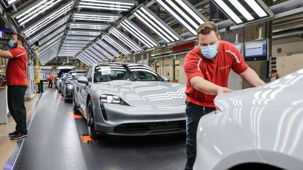 Production, 2020, Porsche AG