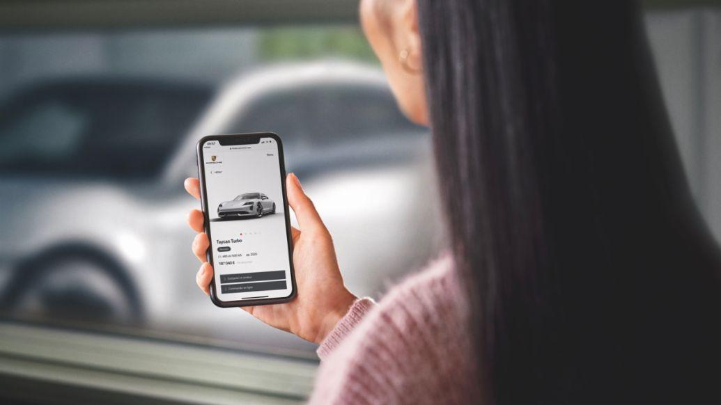 Online car sales in Europe, 2020, Porsche AG