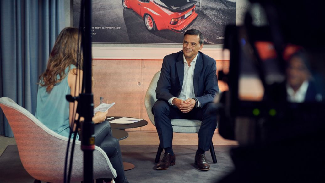 Michael Steiner, Member of the Executive Board Research and Development, 2020, Porsche AG