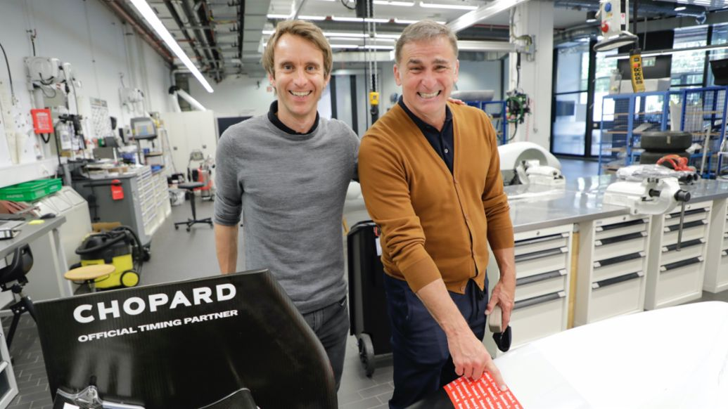 Sport connects: Timo Bernhard and Stefan Kuntz - Image 2