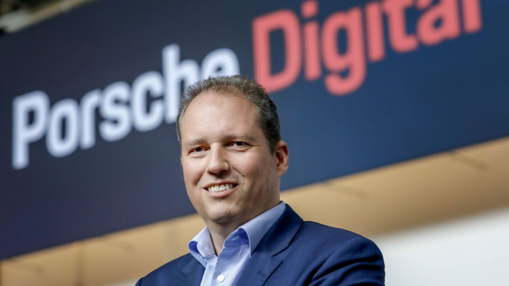 Stefan Zerweck, Chief Operating Officer of Porsche Digital, 2020, Porsche Digital GmbH