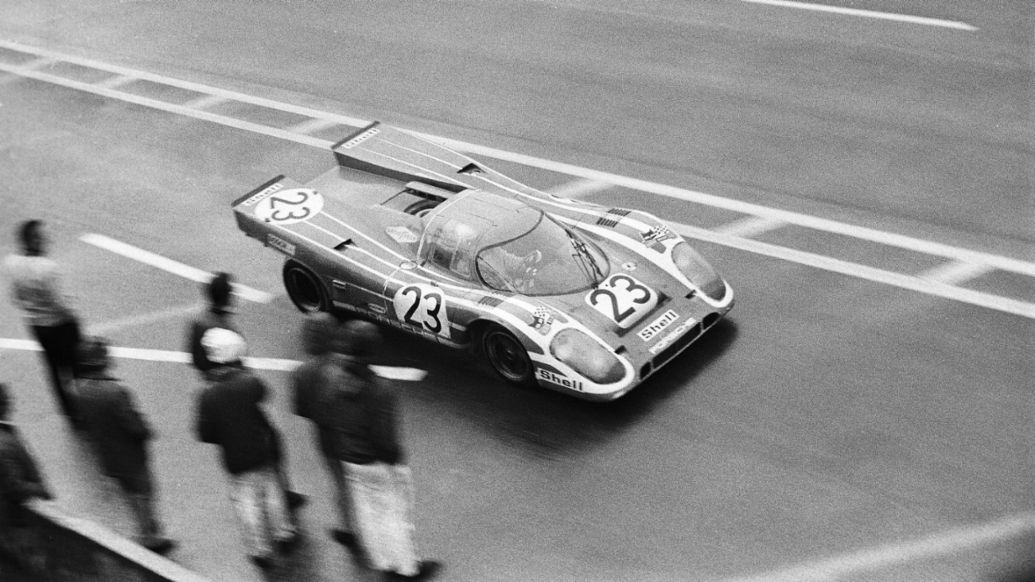 Richard Attwood, 24 Horas de Le Mans, 1970, Porsche AG