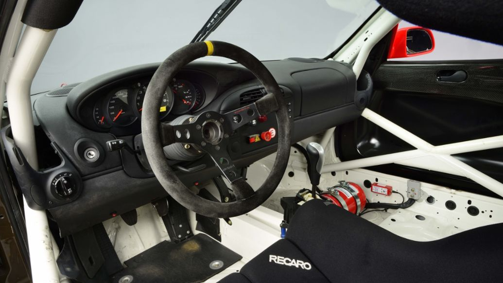 Steering wheel of the 911 Cup (996) (2000), Porsche AG
