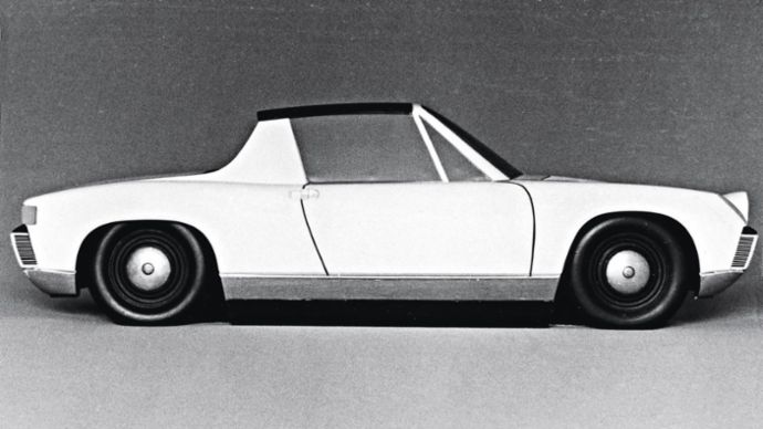 Type 914, model 5, final design, 2020, Porsche AG