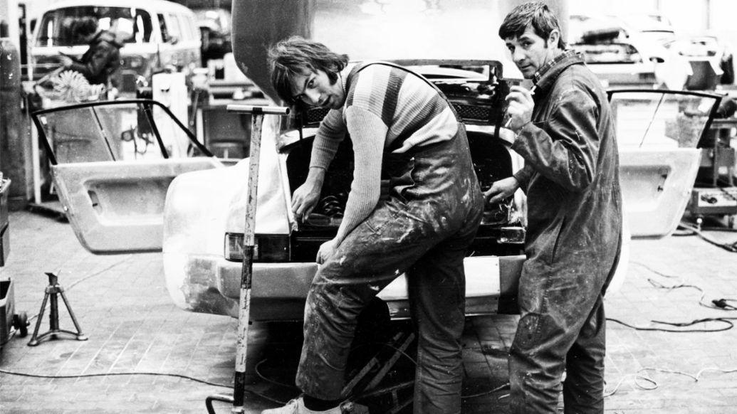 Roland Bemsel, Werner Kühnle, 935, 1977, Porsche AG