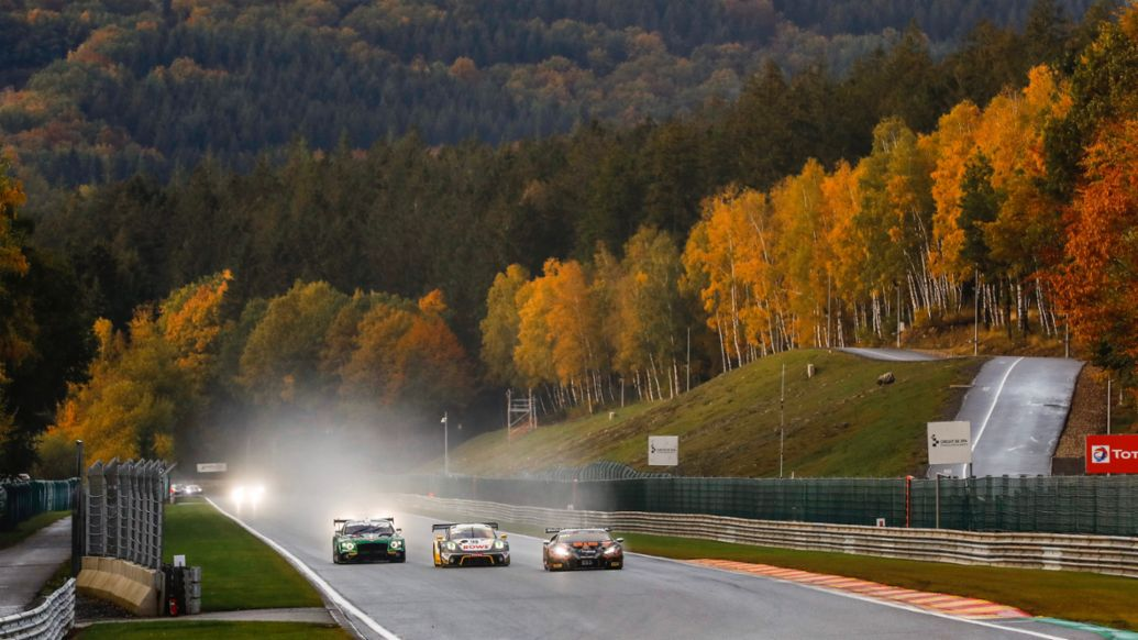 911 GT3 R, 24 Hours of Spa-Francorchamps, Intercontinental GT Series, 2020, Porsche AG