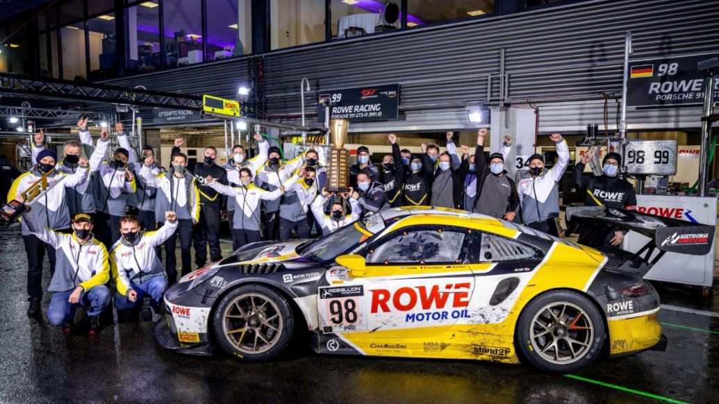 Rowe Racing, 911 GT3 R, 24 Hours of Spa-Francorchamps, Intercontinental GT Series, 2020, Porsche AG