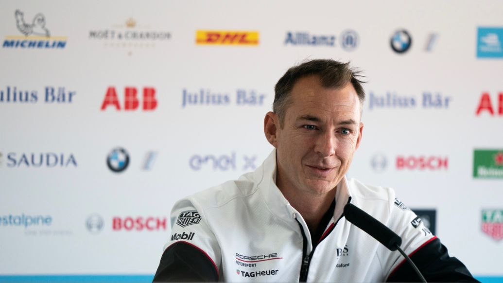 Amiel Lindesay, Head of Operations Formula E, 2020, Porsche AG
