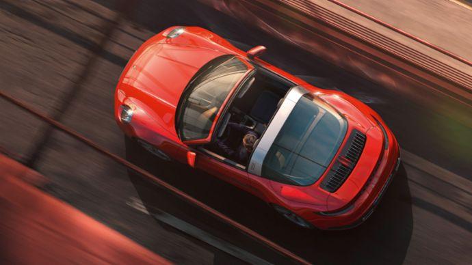 World Premiere Of The New Porsche 911 Targa