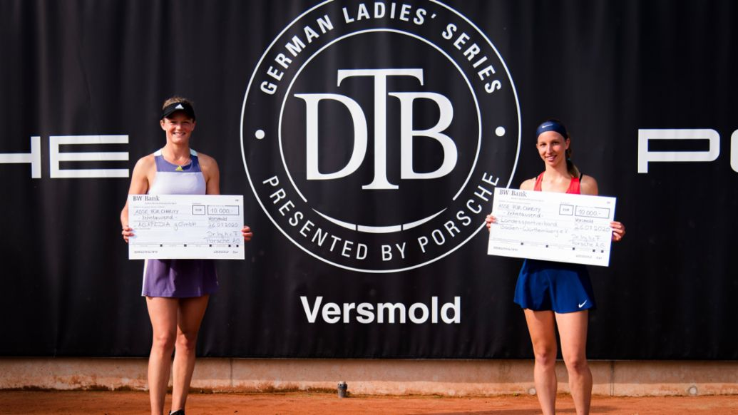 Anna Zaja, Tamara Korpatsch, German Ladies' Series presented by Porsche, 2020, Porsche AG