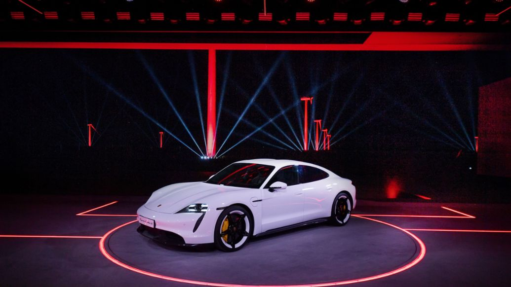 World Premiere of the new Taycan in China, 2019, Porsche AG