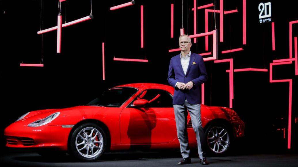 Jens Puttfarcken, President and CEO of Porsche China, 2021, Porsche AG