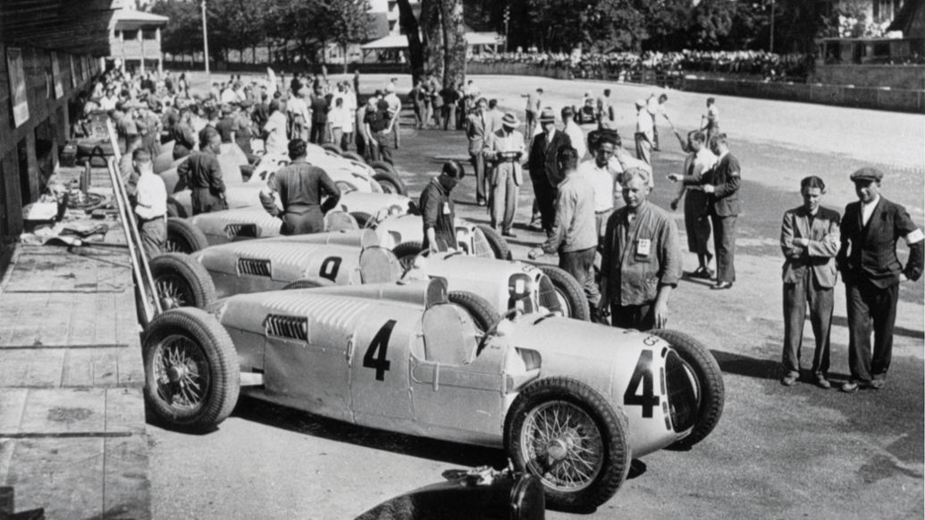 Auto Union Type C, 1936, Porsche Engineering