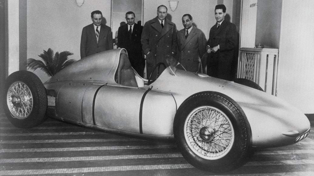 "Porsche Type 360 ""Cisitalia"", Porsche Engineering"
