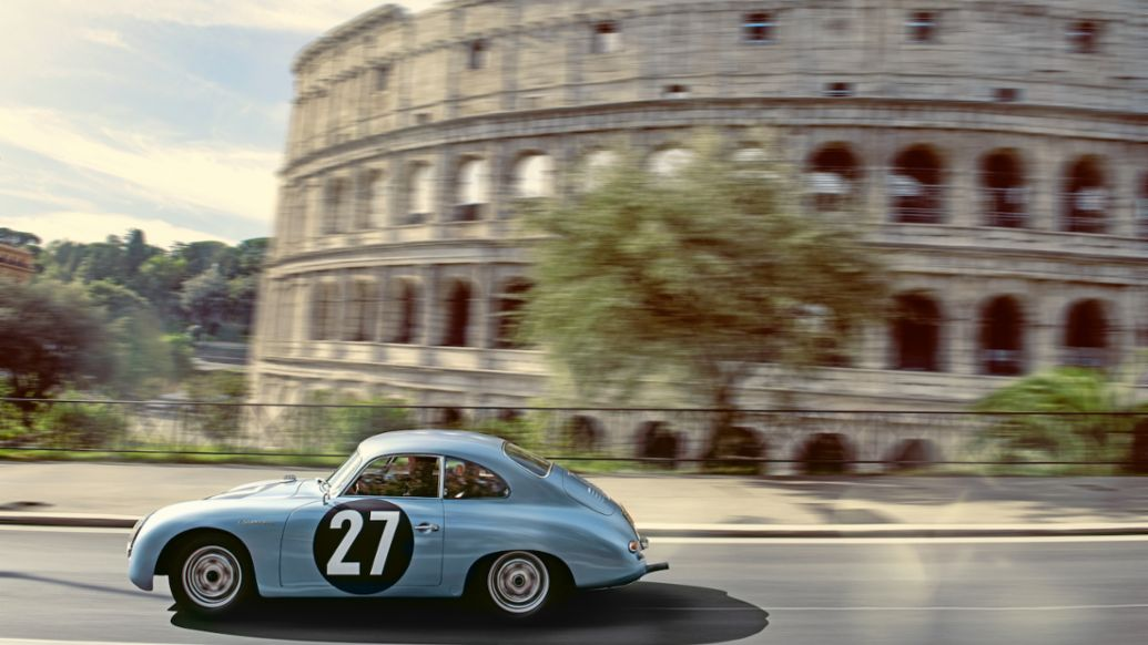 The Porsche 356 on the road to Rome - Image 7