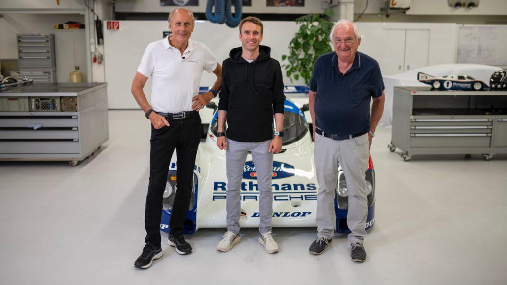Hans-Joachim Stuck, Timo Bernhard, Norbert Singer, 962 C, 2021, Porsche AG