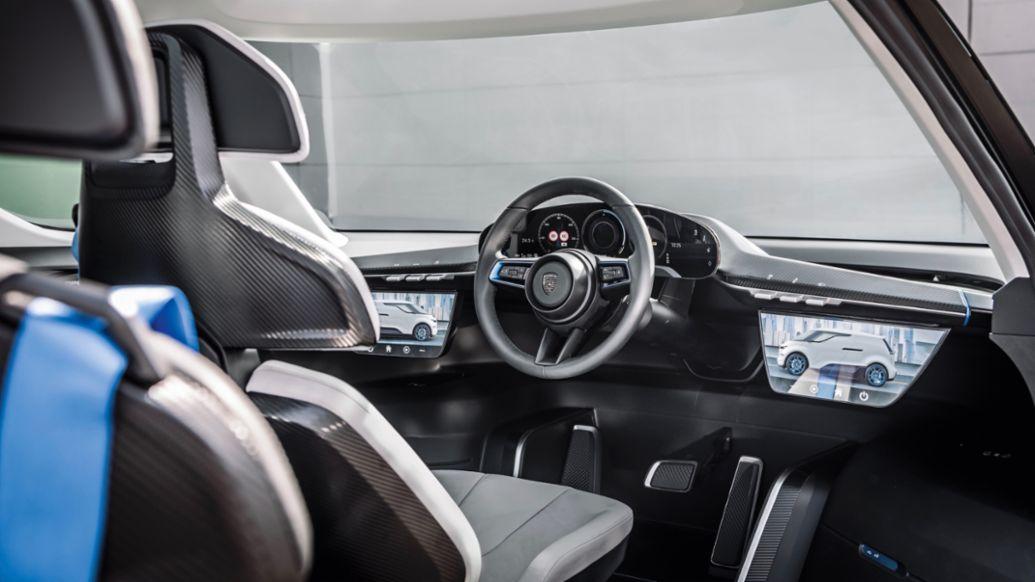 """Porsche Vision """"Renndienst"""" (2018), 2021, Porsche AG"""