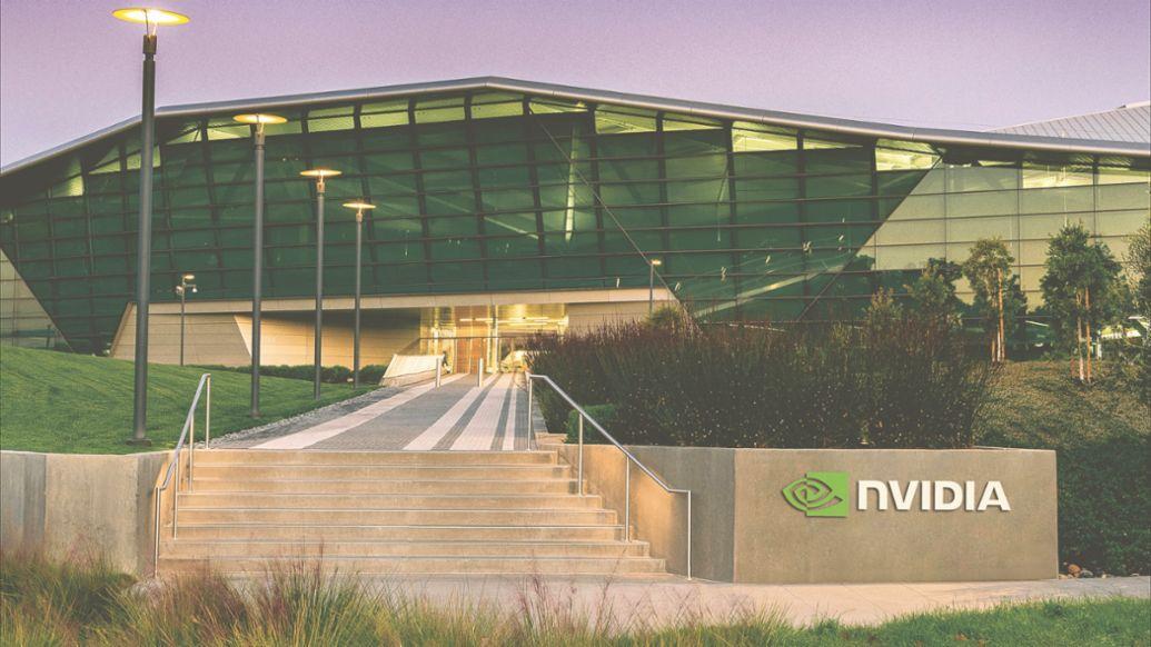 Nvidia Hauptsitz in Santa Clara, 2020, Porsche AG